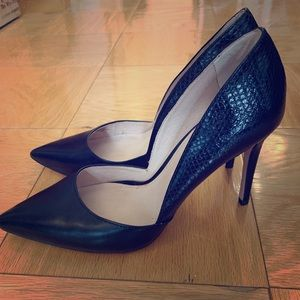 Louise et Cie black pointy toe hells